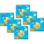 Kit 6 Pacotes de Fraldas Huggies Tripla Proteção (P, M, G, EG) - R$100