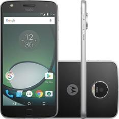 """Smartphone Moto Z Play Dual Chip Android 6.0 Tela 5.5"""" 32GB Câmera 16MP - Preto (1x - Cartão Submarino)"""
