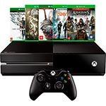 [Cartão Submarino] Console Xbox One 500GB + 5 Jogos + Controle Sem Fio