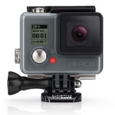 Câmera Digital e Filmadora GoPro Hero Plus CHDHC-101-LA Chumbo - 8MP, Wi-Fi,
