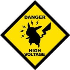 Placa Decorativa Danger High Voltage - Legião Nerd (frete gratis) por R$ 19