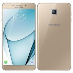 "Smartphone Samsung Galaxy A9, Dual Chip, Dourado, Tela 6"", 4G+WiFi, Android 6.0, 16MP, 32GB POR R$2047"
