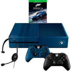 Console Xbox One 1TB Edição Limitada + Game Forza 6 (Via Dowloand) + Headset com Fio + 2 Controle Wireless