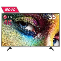 "[Casas Bahia] Smart TV LED 55"" Ultra HD 4K LG 55UH6150 com Sistema WebOS, Wi-Fi, Painel IPS, HDR Pro, Upscaler, Entradas HDMI e Entrada USB"