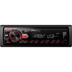Som Automotivo Pioneer MVH-88UB com Entrada USB por R$ 139