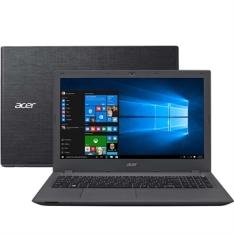 """Notebook E5-574G-73NZ Intel Core i7 16GB RAM HD 2TB Placa Dedicada 940M Tela 15.6"""" Windows 10 Grafite - Acer por R$3628"""