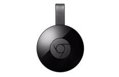 Google Chromecast 2 HDMI Preto - Adaptador Multimídia  por R$ 130