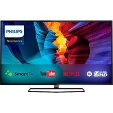 "Smart TV LED 40"" Philips Ultra HD 4K"