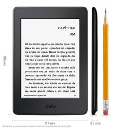 [Kabum] E-Reader Kindle Paperwhite, Wi-Fi, 4 GB Preto