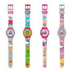 Relógio Hello Kitty Digital 5 funções Sortido - R$4,99