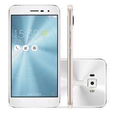 "Smartphone Asus Zenfone 3 Tela 5,2"" Branco - 10x s/ juros"