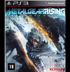 Metal Gear Rising: Revengeance (PS3) por R$12,90