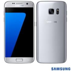 """Samsung Galaxy S7 Prata com Tela de 5.1"""", 4G, 32 GB e Câmera de 12 MP por R$2318"""
