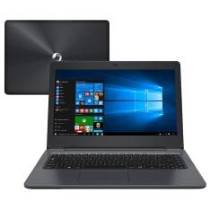 "Notebook Positivo 2GB RAM, 32 GB de SSD, Tela LED 14"""