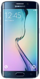 "Smartphone Samsung Galaxy S6 Edge Preto 4G Tela 5.1"" Android 5  32Gb  Por R$ 1672"