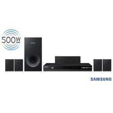 Home Theater Samsung HT-F4505/ZD 5.1 Canais com Blu-ray Player 3D, Rádio FM– 500 W por R$ 549