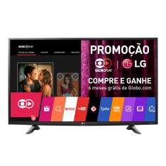 "Smart TV LED 49"" LG 49UH6100 4K 3 HDMI 1 USB - Preta"