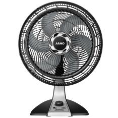 Ventilador Arno Silence Force VF40 - Preto/Prata - R$130
