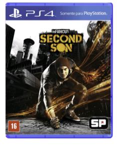 Jogo Infamous : Second Son PS4