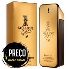 Perfume Paco Rabanne 1 Million Masculino Eau de Toilette 200ml por R$ 260