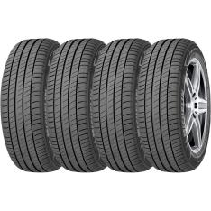 Kit com 4 Pneus Aro 17 Michelin 225/45R17 W Primacy 3 por R$ 1199
