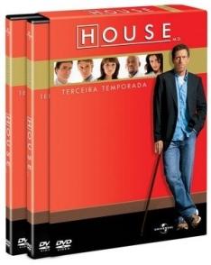DVD House - 3ª Temporada - 6 Discos