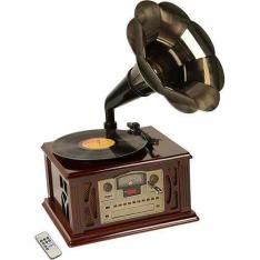 Gramophone Ribeiro e Pavani Sierra com USB , SD Card, MP3, CD, Rádio, Fita Cassete e Vinil
