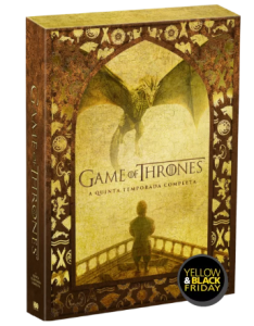 BOX DVD GAME OF THRONES - 5ª TEMPORADA