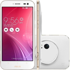 "[americanas] Asus Zenfone Zoom Android Tela 5.5"" 4G 13MP 64GB - Branco"
