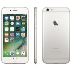 "iPhone 6 Apple com 16GB, Tela 4,7"", iOS 8, Touch ID, Câmera iSight 8MP, Wi-Fi, 3G/4G, GPS, MP3, Bluetooth e NFC - Prateado por R$2099"