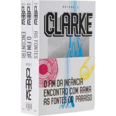 [Submarino] Pacote Arthur C Clarke, 3 livros Indispensáveis - O Fim da Infância, Encontro com Rama, As Fontes do Paraíso por R$ 43
