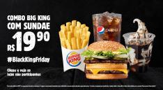 Combo Big King + Sundae por 19,90 - Burger King