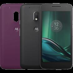 (Shoptime) Smartphone Moto G 4 Play DTV Colors Dual Chip Android 6.0 Tela 5'' 16GB Câmera 8MP - Preto R$