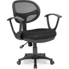 Cadeira de Escritório Canadá com Braços - R$166