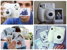 Câmera Instantânea Fujifilm Instax 7S - Branca