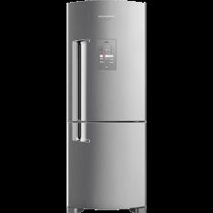 [CARTAO SHOPTIME] Geladeira / Refrigerador Brastemp Inverse Frost Free BRE50NK 422L Evox