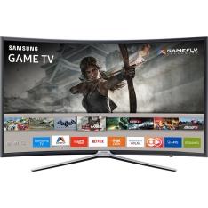 "Smart TV LED Tela Curva 40"" Samsung 40K6500 Full HD R$ 1583,99"
