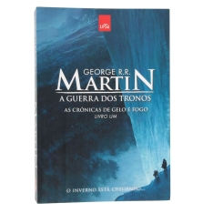 As Crônicas de Gelo e Fogo - A Guerra dos Tronos - Livro 1 por R$ 10