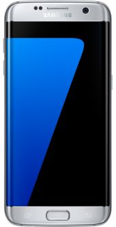 "Samsung Galaxy S7 Edge Prata Tela 5.5"" Android 6.0 Câmera 12Mp 32Gb"