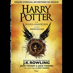 Harry Potter e a Criança Amaldiçoada (Livro 8) CAPA DURA - R$31