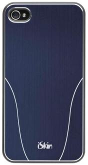 Capa protetora Iskin Aura Navy para iPhone 4/4s - R$ 0,85