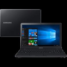 Notebook Samsung Expert X19 Intel Core i5 4GB 500GB Tela LED FULL HD 15.6'' Windows 10 - Preto