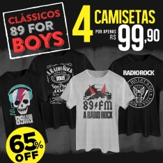 [bandUP! Store] Combos de camisetas a partir de 79,90