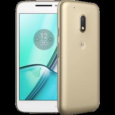 """Smartphone Moto G4 Play DTV Dual Chip Android 6.0 Tela 5"""" 16GB Câmera 8MP 4G - Edição Especial Dourado"""