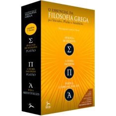 Box - O Essencial da Filosofia Grega (3 Volumes)