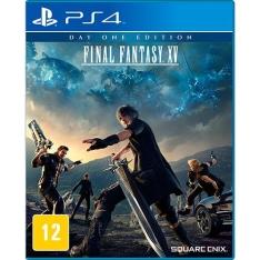 Game - Final Fantasy XV: Edição Limitada - PS4e Xbox One - R$158