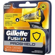 Kit 12 Unidades de Cargas para Aparelho de Barbear Fusion Proshield - R$140