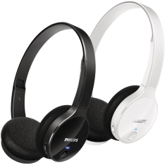 HEADSET PHILIPS BLUETOOTH SHB4000WT/00 - R$100