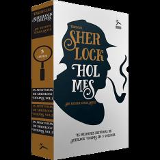 Box Sherlock Holmes: As Aventuras de Sherlock Holmes (3 Volumes) - R$17