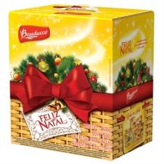 Cesta de Natal Pequena - Bauducco   R$43